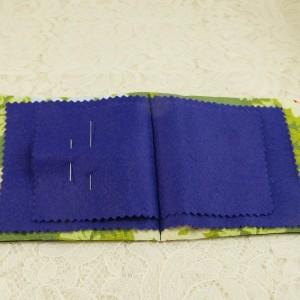 Doublure coton et pages feutrine